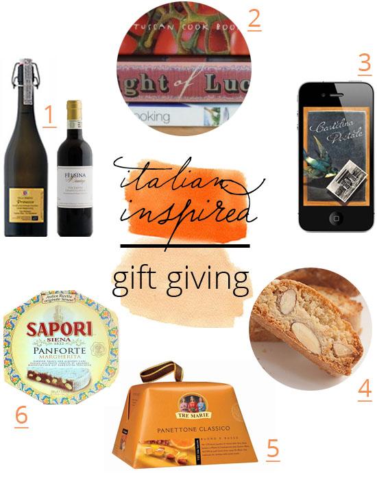 italian christmas gifts