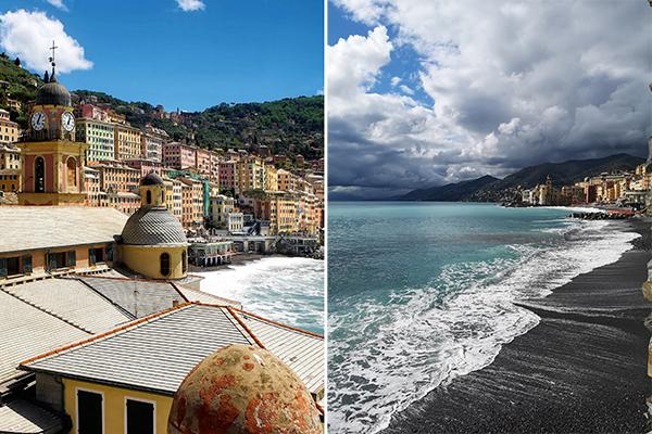 Coastal Towns Italy Camoglia