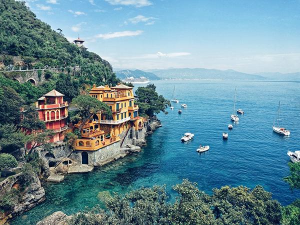 Coastal Towns Italy Portofino