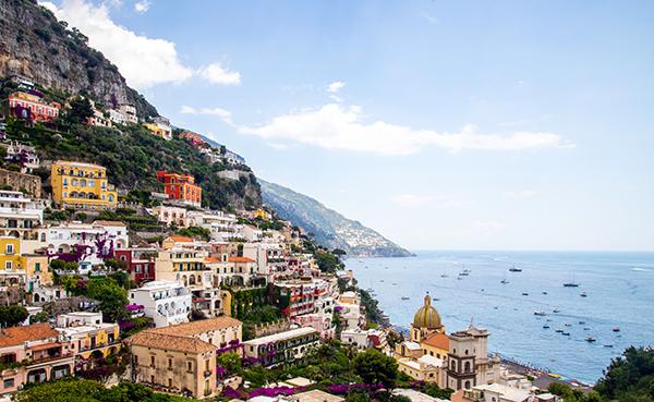 Coastal Towns Italy Positano