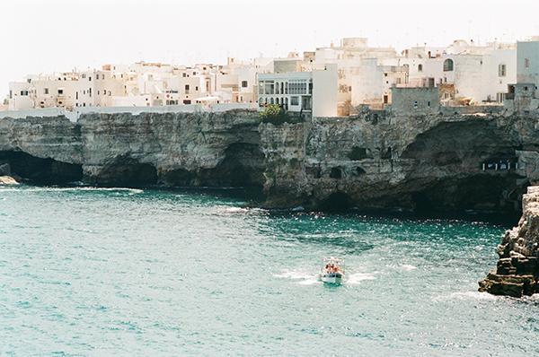 Coastal towns Italy Poligano al Mare