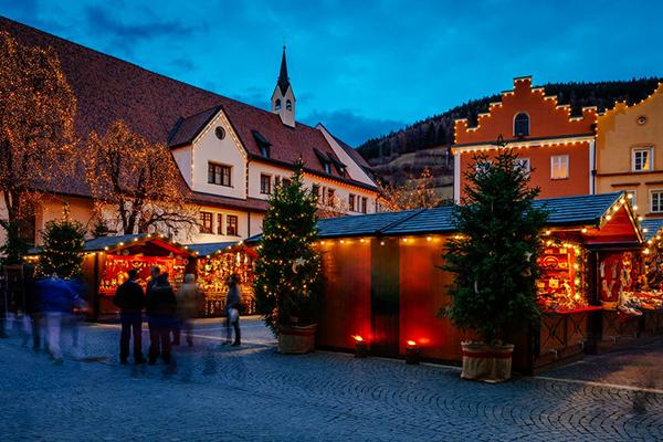 Italy Christmas Market in Trentino