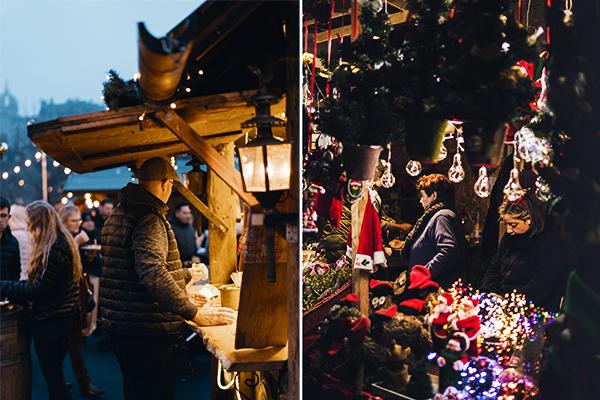 Italy Christmas Market Patrons