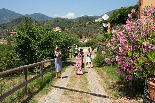 italy overnight tours at a private villa in the cinque terre