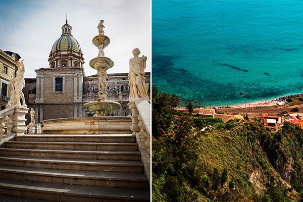 Italy in Winter in Sicily