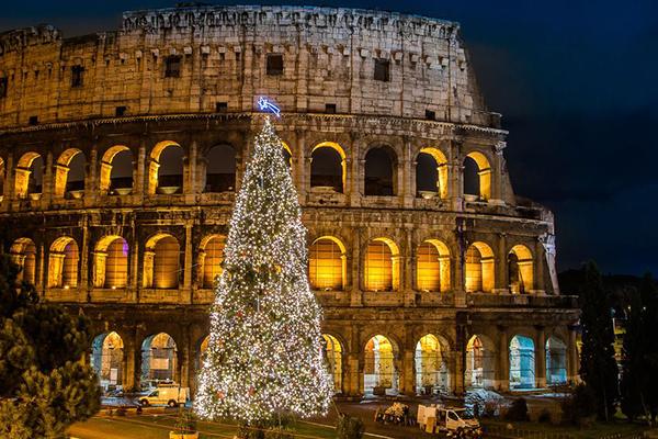 Italy in Winter in Rome