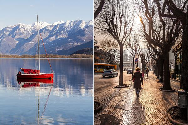 Italy in Winter in Lake Como