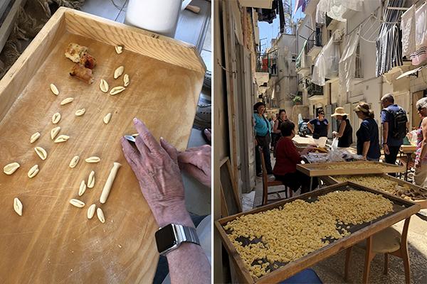 Lecce Pasta making