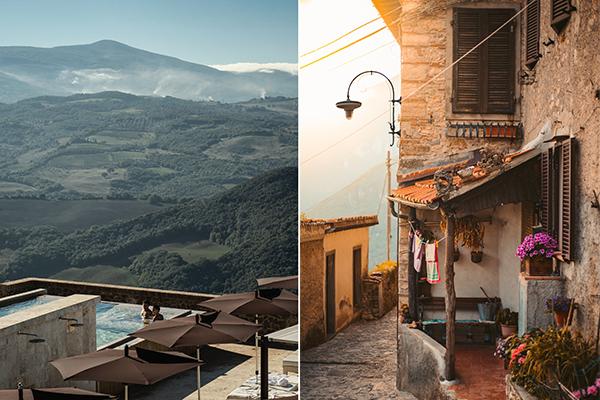 italy honeymoon in tuscany