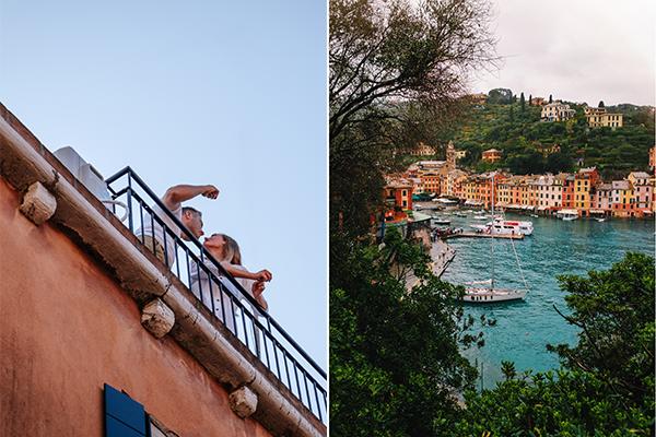 italy honeymoon in portofino