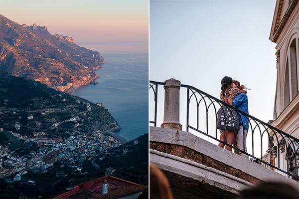 italy honeymoon in amalfi