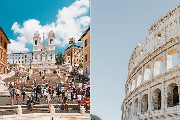 italy honeymoon in rome