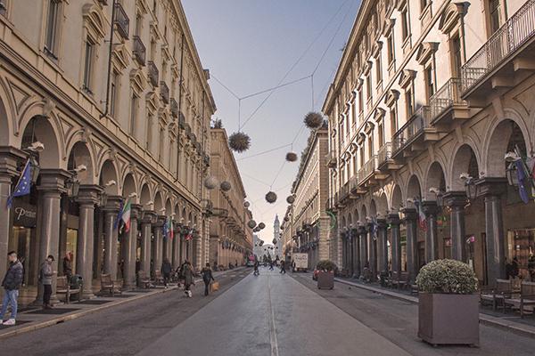 Turin Italy Arcade