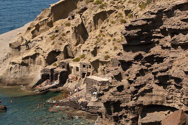 Pollara Cliffs